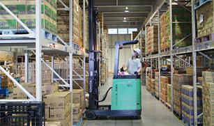 菓子・食品輸送で培った輸送品質の高さ