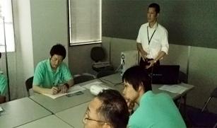 1. 社内研修(初日~)