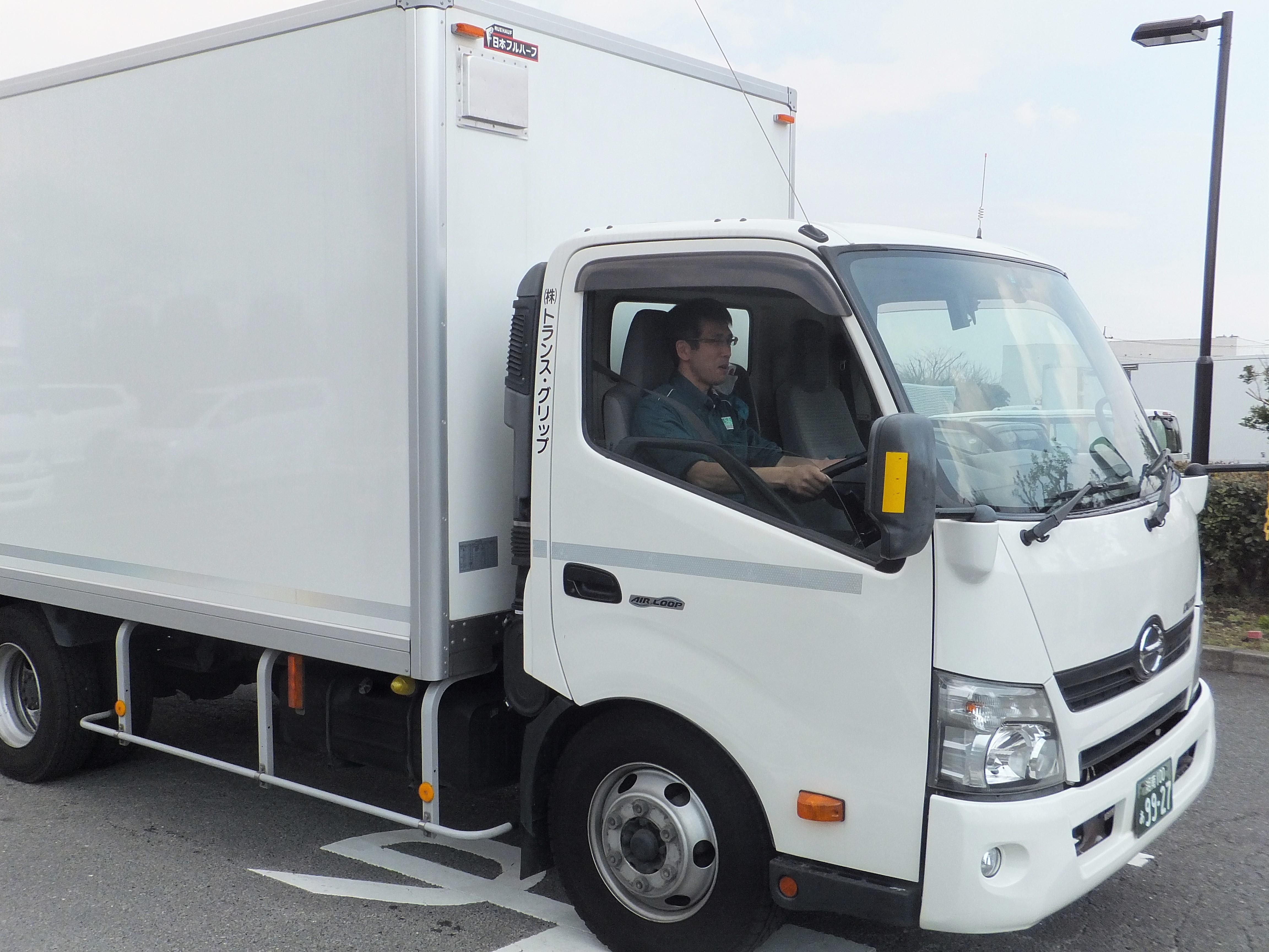 糸井さんトラック運転